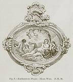 Earthernware Plaque; Alcora Ware