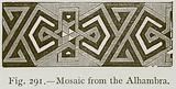 Mosaic from the Alhambra