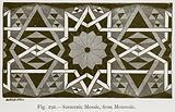Saracenic Mosaic, from Monreale