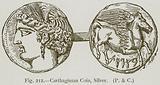 Carthaginian Coin, Silver