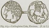Carthaginian Coin, Electrum