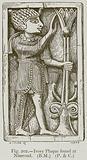 Ivory Plaque found at Nimroud