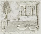 Temple on the Bank of a River, Khorsabad, from Batta