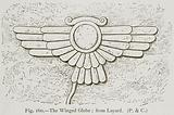 The Winged Globe; from Layard