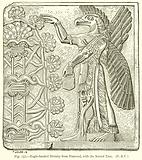 Eagle-Headed Divinity from Nimroud, with the Sacred Tree