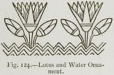 Lotus and Water Ornament
