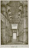 Entrance to the Hypostyle Hall of the Temple of Amen at Karnak