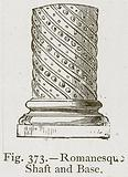 Romanesque Shaft and Base
