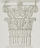 Capital of the Lysikrates Monument; Greek Corinthian