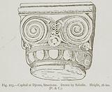 Capital at Djezza, Limestone
