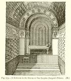 A Bedroom in the Harem at Dur-Sarginu (Sargon's Palace)