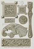Parts of Harness in Gilt Bronze, Gotland