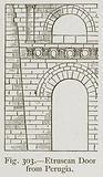 Etruscan Door from Perugia