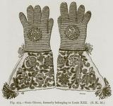 State Gloves, formerly belonging to Louis XIII