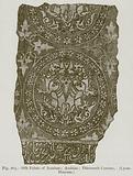 Silk Fabric of Iconium; Arabian; Thirteenth Century. (Lyons Museum)