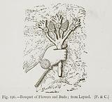 Bouquet of Flowers and Buds; from Layard