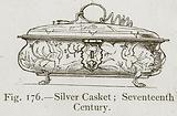 Silver Casket; Seventeenth Century