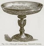 Silver-Gilt German Cup; Sixteenth Century