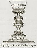 Spanish Chalice; 1549