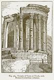 Temple of Vesta at Tivoli, with Roman-Corinthian Columns