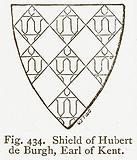 Shield of Hubert de Burgh, Earl of Kent