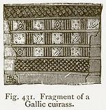 Fragment of a Gallic Cuirass