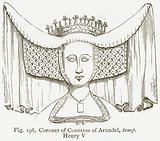 Coronet of Countess of Arundel, temp. Henry V