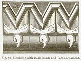 Moulding with Beak-Heads and Tooth-Ornament