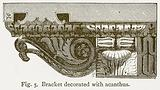Bracket Decorated with Acanthus