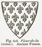 Fleur-de-Lis (Semee). Ancient France