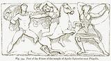 Part of the Frieze of the Temple of Apollo Epicurius near Phigalia