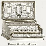 Virginal. 16th Century