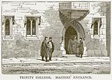 Trinity College, Masters' Entrance