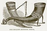 Old English Drinking Horns