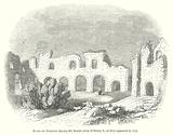 Ruins of Reading Abbey, the Burial-Place of Henry I, as they appeared in 1721