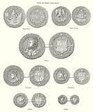 Coins of Queen Elizabeth