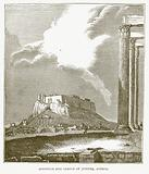 Acropolis and Temple of Jupiter, Athens