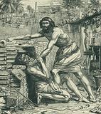 Moses Slaying the Egyptian