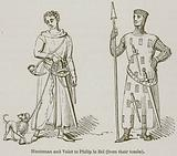 Huntsman and Valet to Philip le Bel (from their Tombs)