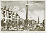 A View of the Monument of London, in Remembrance of the Dreadful Fire in 1666