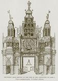 Triumphal Arch Erected at the Time of the Coronation of James I