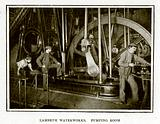 Lambeth Waterworks. Pumping Room