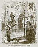 Parley between Piers Gaveston and the Earl of Pembroke