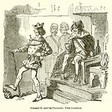 Edward II and his Favourite, Piers Gaveston