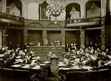 The London School Board in Session