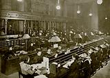 The Pneumatic-Tube Room, General Post Office, London