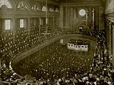 Dr Parker Preaching on Christmas Morning in the City Temple, London