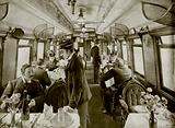 In a Third-Class Dining Car on the Great Northern Railway of England