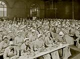 Dinner-Time in St. Pancras Workhouse, London