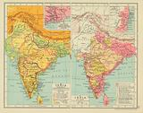 India in the Time of Clive & Warren Hastings. Calcutta and the Adjacent Districts or Zemindaries.